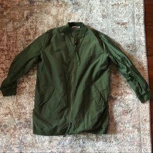 Vince oversized Parker bomber jacket